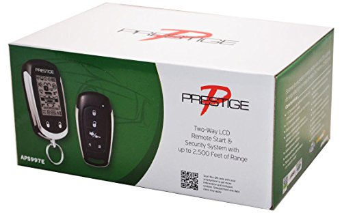 Audiovox APS997C Car Prestige 2-Way Remote Start Keyless Entry and Security System Alarm