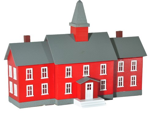 Model Power 783 HO B/U Little Red School House (Little Models compare prices)