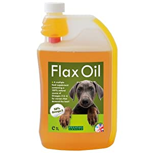 Pegasus Health Flax Oil for Dogs 1 Litre from PEGCW