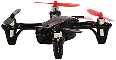 Upgrated Hubsan X4 H107C RC RTF Quadcopter 0.3MP Camera with Extra 3-blade propellers and Solar Car