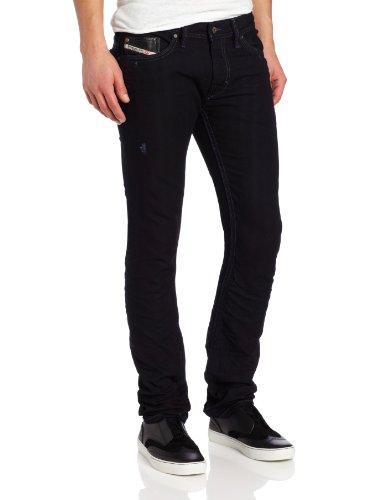 Diesel Men's Thanaz Narrow Slim-Leg Jean 0601K by Diesel