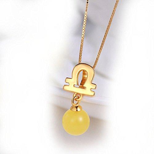 graceful-collier-avec-pendentif-et-ambre-miel-chaine-45-cm-argent-925-1000