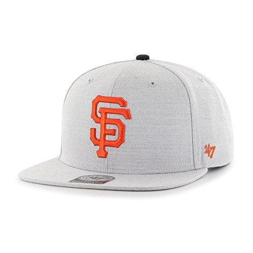 47-Brand-San-Francisco-Giants-Boreland-Snapback-MLB-Cap-Grau