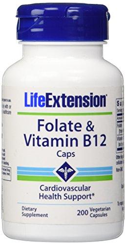 Folate-Vitamin-B12-200-Vegetarian-Capsules