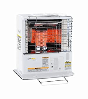 Heat Mate HMN-110 Radiant Kerosene Heater 10000 BTU 380 Sq. Ft.