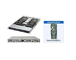 Supermicro SYS-6018TR-T 1U Twin Server wtih X10DRT-L Motherboard
