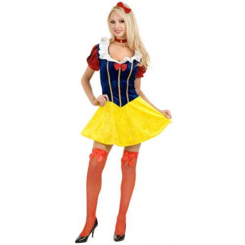 Classic Snow White Costume - Medium - Dress Size 8-10