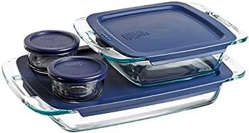 Pyrex Easy Grab 8 Pc. Food Storage Set