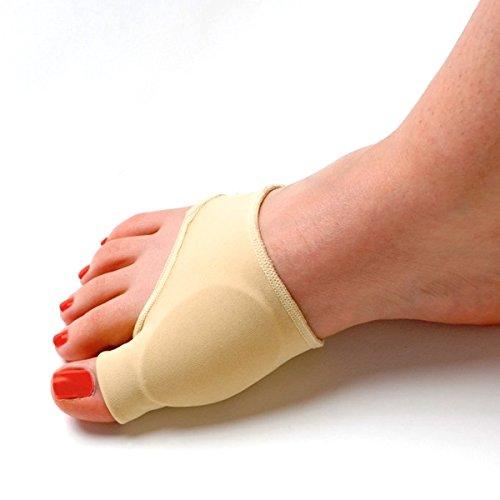 Pixnor adulto donne Gel elastico interno foderato Bunion protezione alluce valgo manica Punta Spalmatore correttore Pad