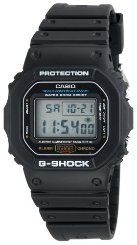 Casio Men's G-Shock DW5600E-1V Black Resin Quartz Watch