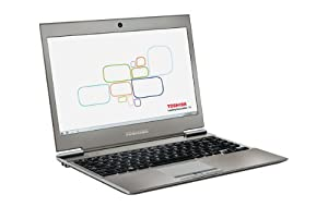 "Toshiba Portege Z930-15Z - Portátil de 13.3"" (Intel Core i5, 6 GB de RAM, 128 GB, Intel HD Graphics 4000, Windows 8), plateado - Teclado QWERTY español"