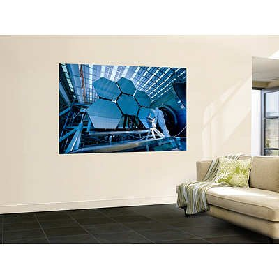 (48X72) Stocktrek Images - A James Webb Space Telescope Array Being Tested In The X-Ray And Cryogenic Facility Huge Wall Mural