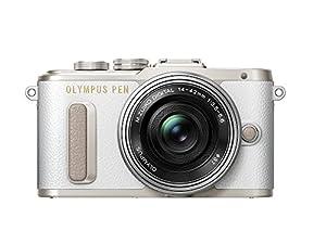 Olympus PEN E-PL8 - Cámara EVIL de 16 MP (pantalla táctil abatible de 3