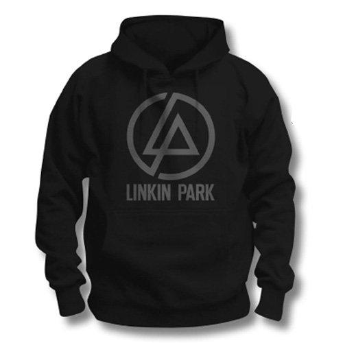 Linkin Park Concentric Official - Felpa con cappuccio, da uomo, tutte le taglie, colore: Nero, nero (nero), XL