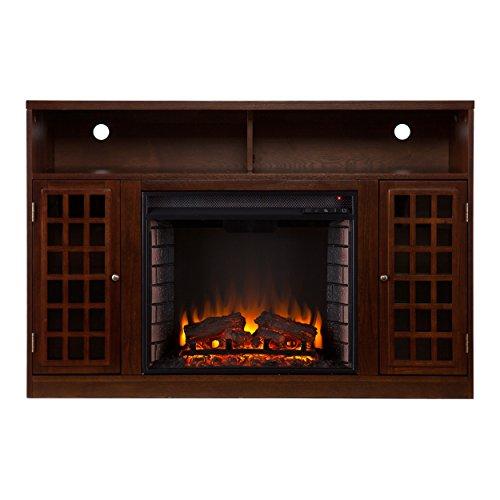 SEI Narita Media Console  Electric Fireplace,
