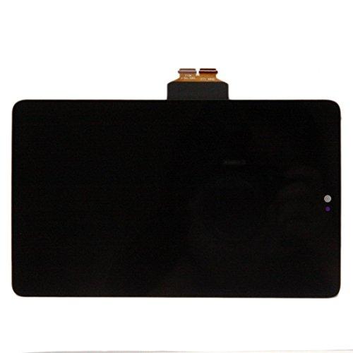 Asus Google Nexus 7 2012液晶LCD タッチパネル+フルLCD (フロントガラスデジタイザ) ME370T 修理用キット ブラック