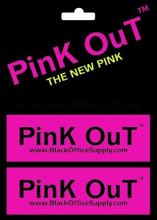 PINK OUT ERASERS - A NEW DYNAMIC PINK FOR A NEW GENERATION pack of 2