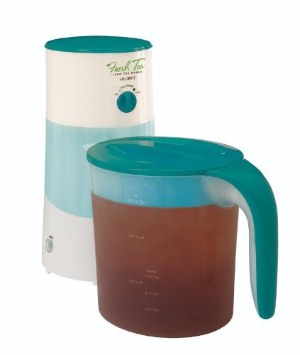 Lowest Price! Mr. Coffee TM70TS Fresh Iced Tea Maker, 3-Quart, Teal Splash
