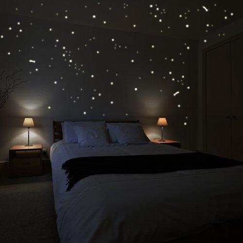 sticker-da-muro-wandkings-250-stelle-e-stelle-cadenti-per-un-cielo-stellato-fluorescenti-e-brillanti