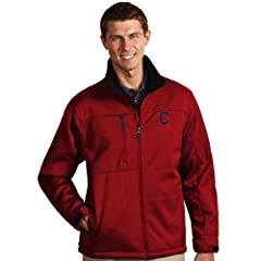 Cleveland Indians Traverse Jacket by Antigua