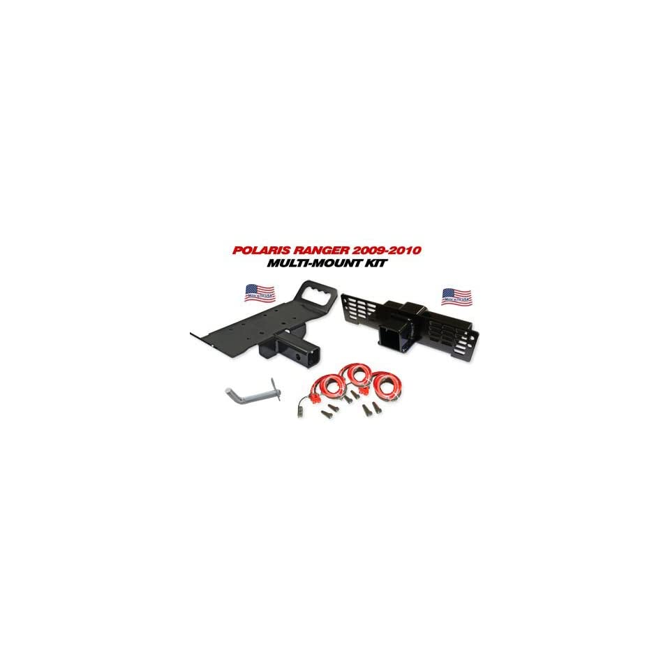 2009 2010 Polaris Ranger Multi Mount Winch Kit Automotive