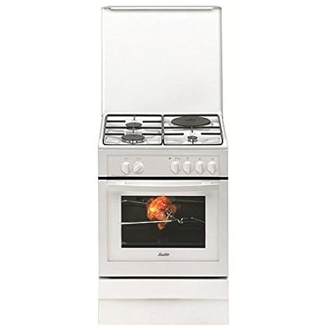 Sauter SCM 1010 W Cuisinière Electrique Largeur : 60 cm Classe: B Blanc