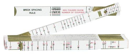 Lufkin 636 6 Brick Masons Wood Folding Rule