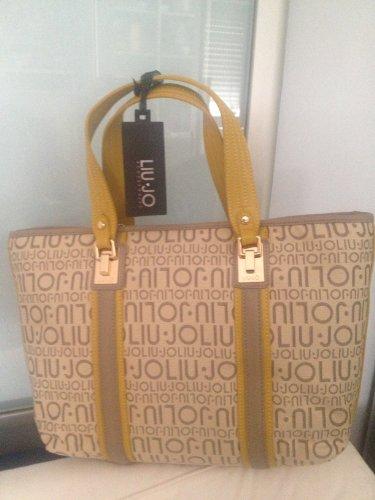 af4153664189d borsa liu jo ischia shopping grande con zip colore DUSKYCITRON coll. 2012 13