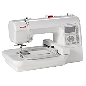 Janome Memory Craft 200E Embroidery Machine with Exclusive Bonus Bundle