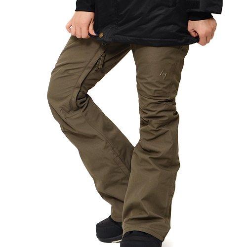AA HARDWEAR(ダブルエー ハードウェア) スノーボード パンツ ハードウェア BAKER PANTS パンツ TIGHT FIT スノボ スノーボード スノーウェア ボトムス レディース Mサイズ KHAKI bakerpants-M-72115338-KHAKI