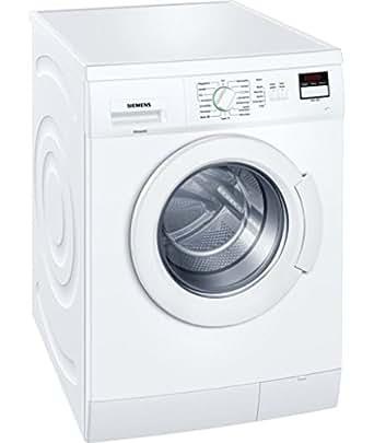 siemens wm14e220 waschvollautomat a 7 kg 1400 rpm schaumerkennung wei. Black Bedroom Furniture Sets. Home Design Ideas