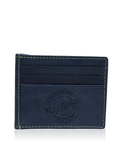 Pepe Jeans Kartenetui Relief blau