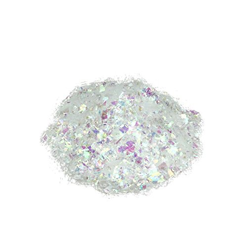 Oz white iridescent artificial powder snow twinkle