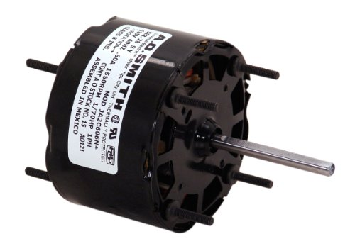 A.O. Smith 26 3.3-Inch 1/40 Hp, 1550 Rpm, Open Enclosure, Sleeve Bearing, 2-1/2-Inch By 5/16-Inch Shaft General Purpose Shaded Pole Motor