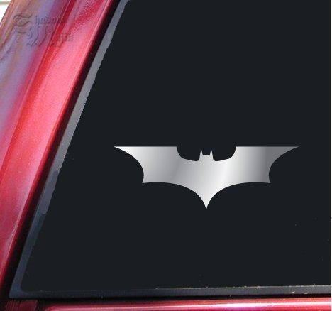 Batman Begins / The Dark Knight Vinyl Decal Sticker - Shiny Chrome
