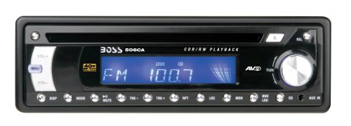 Boss Audio 506CA In-Dash CD Receiver With Detachable Face