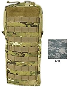 Tactical Assault Gear MOLLE Hydration 100oz Bladder Carrier, Large, Army ACU 812142 by Tactical Assault Gear