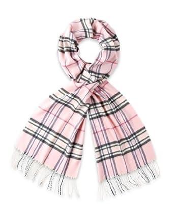 frentani schal klassisch rosa schwarz wei pink kariert mit. Black Bedroom Furniture Sets. Home Design Ideas