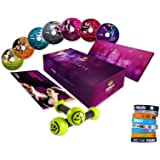 Zumba Fitness® Exhilarate Premium 7 DVDs inkl. 8 Armbänder