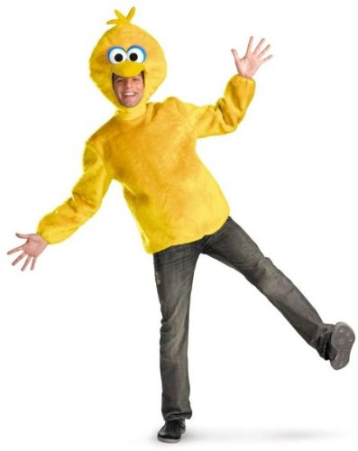 USA Wholesaler- 17252529-Big Bird Male Adult 42-46