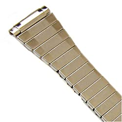 Watch Band Expansion Ladies Silver color fits 12mm to 14mm
