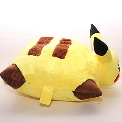 Pikachu Pokemon Pet Pillow Sleep Cushion Soft Plush 45 X 38Cm Doll Pillow from Look-Open