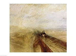 Rain Steam and Speed - Poster by J.M.W. Turner (24 x 18)