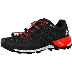 adidas Herren Trekkingschuhe Terrex Boost Core Black/Ftwr White/Solar Red 48