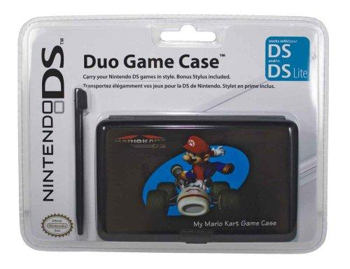 Nintendo DS Lite - Duo Game Case + Stylus, Mario Kart, Nintendo DS
