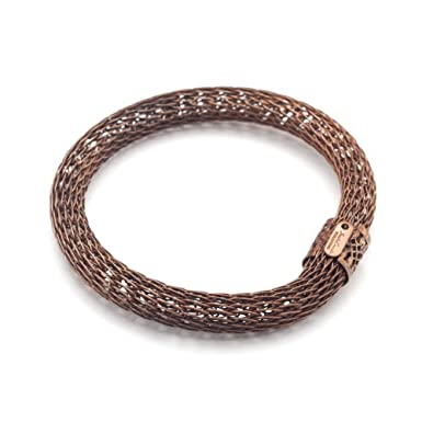Slim Copper Mesh Bracelet by Sarah Cavender