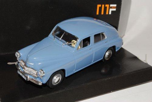 WaRSzawa M20 Limousine Grau 1/43 Nash Avtoprom Modell Auto