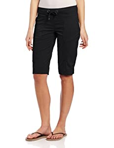prAna Women's Bliss Knicker, Medium, Black
