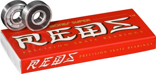 Bones Super Reds Bearings, 8 Pack set