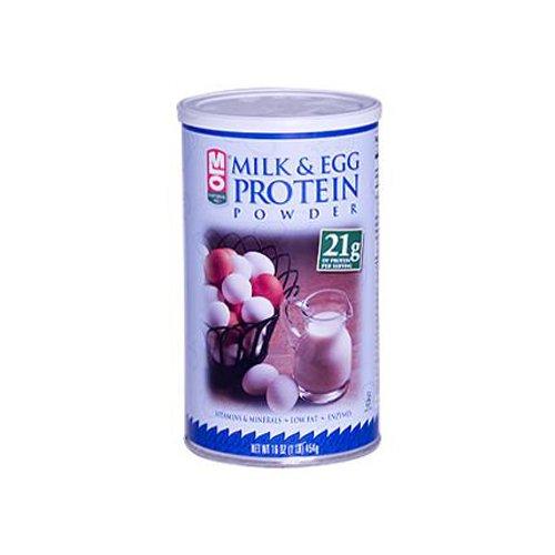 MLO Milk And Egg Protein Powder 16 oz ( Multi-Pack)